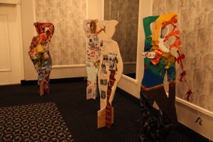 Pieces from the 2013 Lowell Women's Week Public Art Project