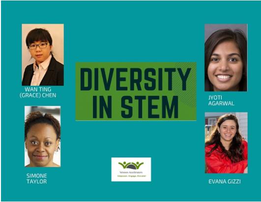 diversity in stem panel photos